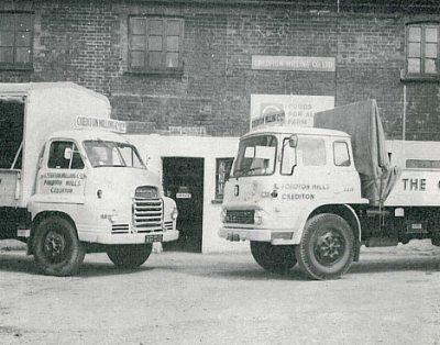 crediton milling lorries