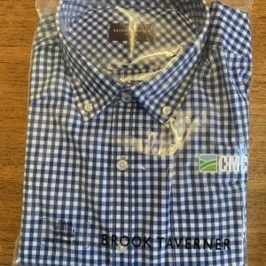 Blue and White Check CMC Montana Long Sleeve shirt