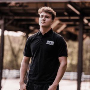 Black Short Sleeve CMC Polo Shirt