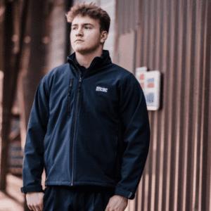 Navy Blue Long Sleeve Jacket