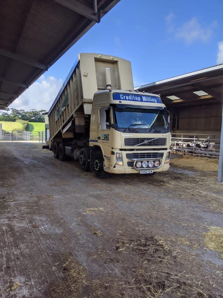 Crediton Milling Lorry